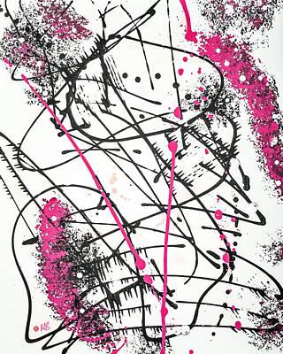 Travel - Splash Pink by Melissa Smith