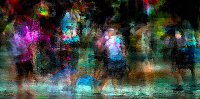 Photograph - Splash Pool 1 by Jim Vance