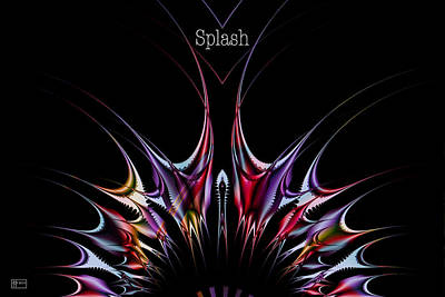 Splash Poster Art Print by Jim Pavelle