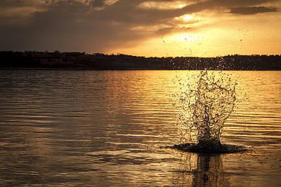 Photograph - Splash by Scott Bean
