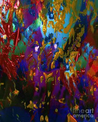 Painting - Splatter by Doris Wood
