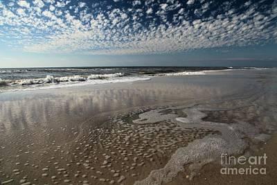 Joeseph Photograph - Splattered Clouds by Adam Jewell