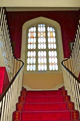 Photograph - Splendid Staircase by Charlie and Norma Brock