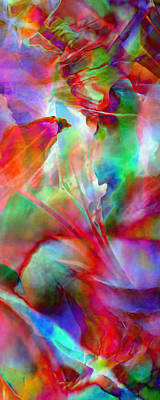Splendor - Abstract Art Art Print