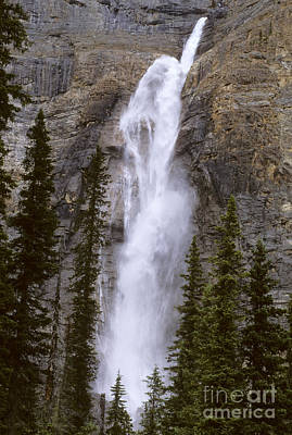 Splendor Of Takakkaw Falls Art Print