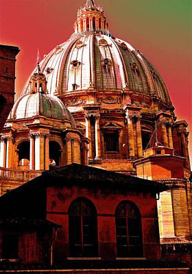 Splendors Of Rome Original by Ira Shander