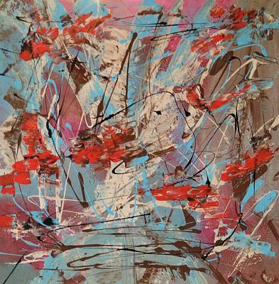 Splish Splash Painting - Splish Splash by Denise Beaupre
