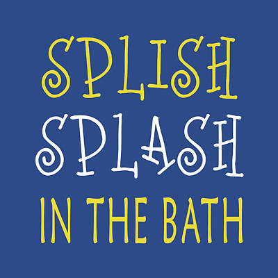 Splish Splash Art Print by Tamara Robinson