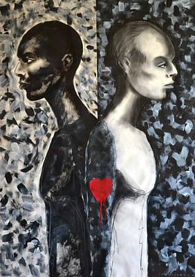 Separation Painting - Split by Angelo Sannasardo