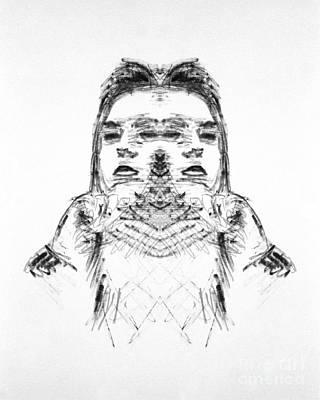 Split Art Print by Bruce Stanfield