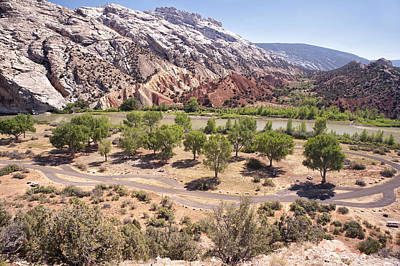 Photograph - Split Mountain Campground by Melany Sarafis