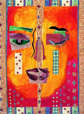 Mixed Media - Split Personality by Diane Fine