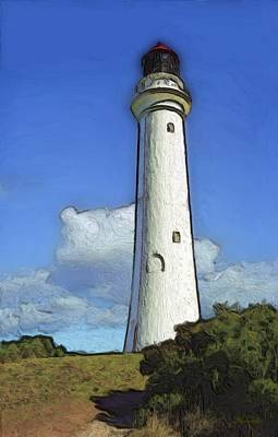 Painting - Split Point Lighthouse by Dennis Lundell