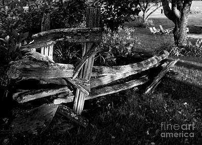 Split Rail Fence Photograph - Split Rail Fence by James Aiken