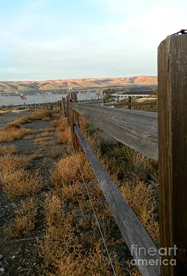 Photograph - Split Rail by Jacqueline  DiAnne Wasson
