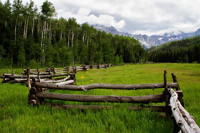 Photograph - Split Rail Meadow by Lana Trussell
