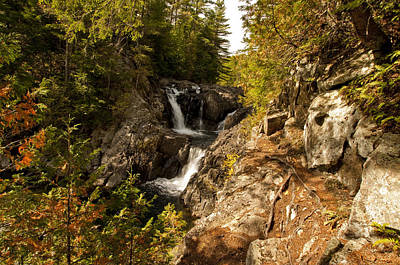 Photograph - Split Rock Falls  by David Seguin