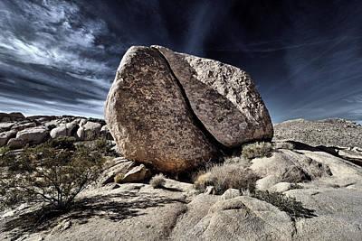 Photograph - Split Rock - Joshua Tree National Park Desert by Vlad Bubnov