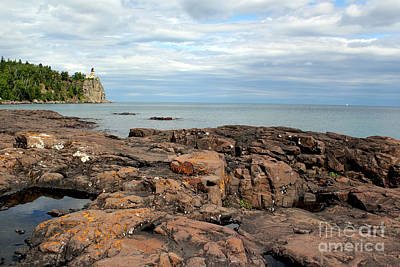 Photograph - Split Rock Lighthouse 3 by A K Dayton