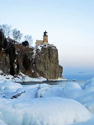 Lake Superior Wall Art - Photograph - Split Rock Lighthouse by Alison Gimpel