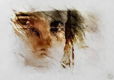 Split Vision Art Print by Gun Legler