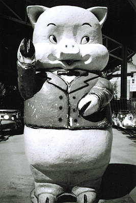 Photograph - Spokane Pig by Tarey Potter