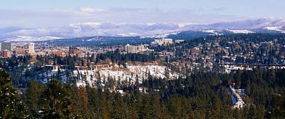 Photograph - Spokane View 2-4-14 by Ben Upham III