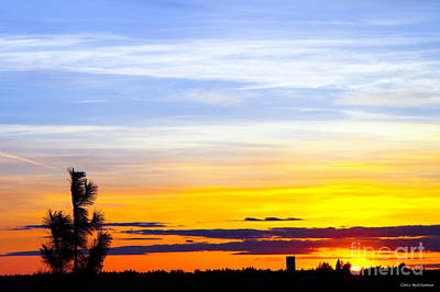 Spokane Wa Sunset Art Print by Chris Heitstuman