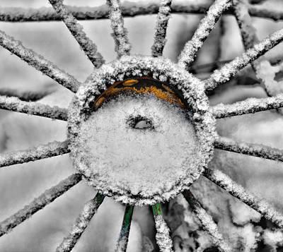 Wagon Wheels Photograph - Spoken by Paul Freidlund