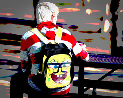 Photograph - Sponge Bob Rides Again by Jeff Mize