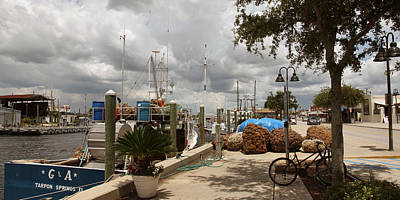 Photograph - Sponge Docks Tarpon Springs by Joseph G Holland