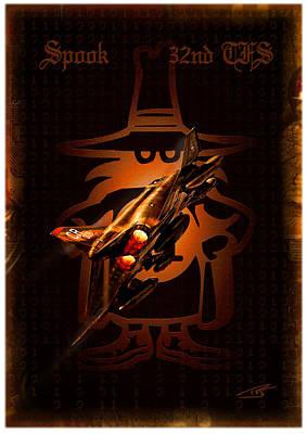 Spooks Digital Art - Spook 32nd Tfs by Peter Van Stigt