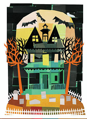 Spooks II Art Print by Michael Mullan
