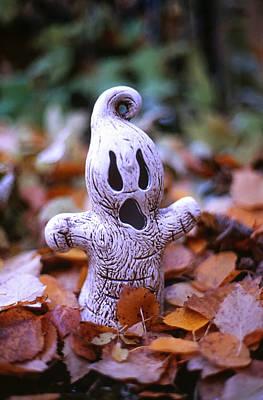 Spooky Autumn Art Print by Aaron Aldrich