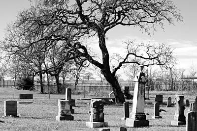 Photograph - Spooky Cemetary  by Catherine Link