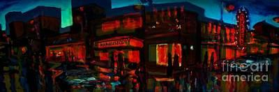 Spooky City Art Print