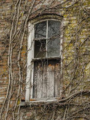 Photograph - Spooky Window by Jean Noren