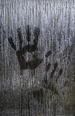 Of Hands Photograph - Spooky Window by Svetlana Sewell