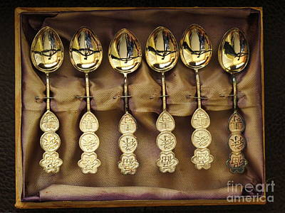 Art Print featuring the photograph Spoons by Ranjini Kandasamy