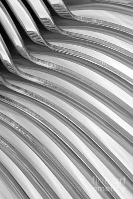 Fine Curved Digital Art - Spoons V by Natalie Kinnear
