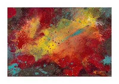 Impasto Oil Painting - Sporadic Corruption 2 by Craig Tinder