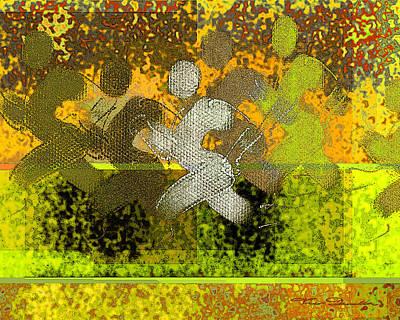 Jogging Digital Art - Sport B 5 B by Theo Danella
