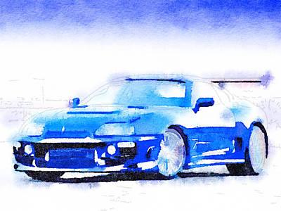 Sport Car 1 Art Print