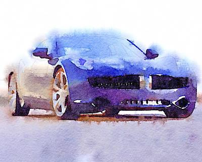 Sport Car 2 Art Print