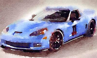 Sport Car 4 Art Print
