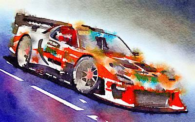 Sport Car 5 Art Print