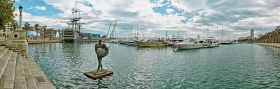 Alicante Photograph - Sport Harbor And Marina, Alicante, Spain by Panoramic Images