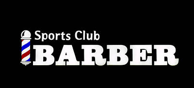 Photograph - Sports Club Barber by E Faithe Lester
