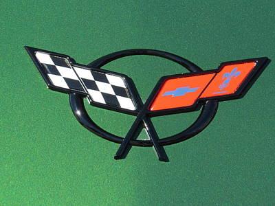 Photograph - Sportscar Logo by Aaron Martens
