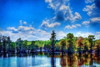 Photograph - Swamp - Louisiana - Sportsman's Paradise by Barry Jones